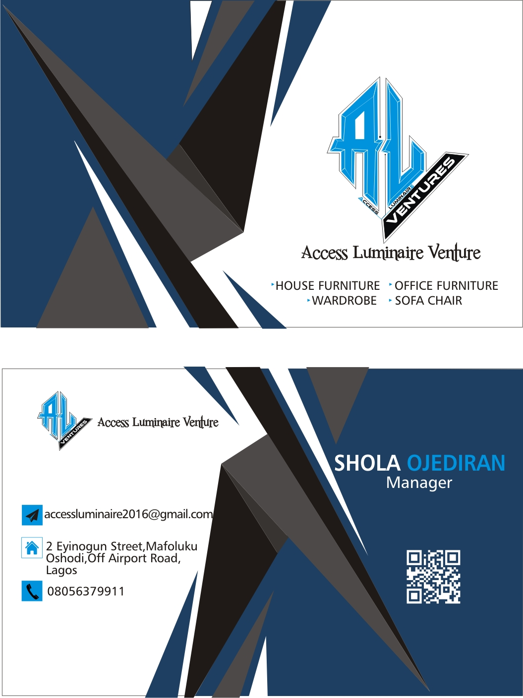Cooperate Business card